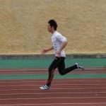 15m加速100mトライアル    奥秀平