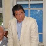 埼玉県陸上競技協会副会長の              道祖土正喜さん(高8回)