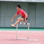 加藤誠也の400mH後半の練習