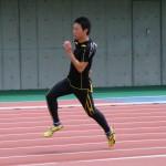 関口邦彦の200m練習
