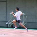 中村哲也の400m前半の練習