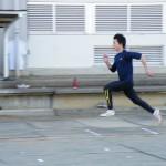 跳躍ブロックの練習