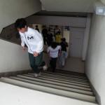 片足階段のぼり