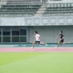 200m+100m 大谷俊貴(左)            中村哲也(右)
