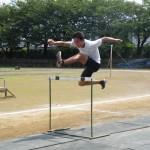 110mHの練習 阿部友明