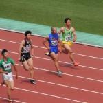 100m予選 金井