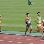 1500mオープン 後藤(右) 田端(左)