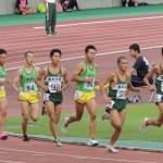 1500m決勝 野口(右) 荻原(中) 多田(左)