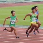 100m決勝 金子