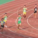 400m決勝 三上(左) 池田(右)