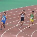200m予選 池田