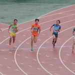 200m予選 金井