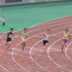 200m準決勝 谷本