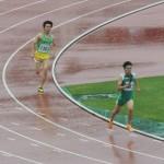 4×400mR予選 3走吉野