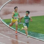 4×400mR予選 4走金井