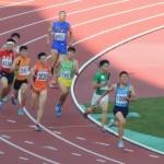 4×400mR決勝 2走戸澤