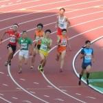 4×400mR決勝 3走吉野