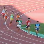 4×400mR決勝 4走金井