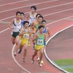 800m決勝 三上(前) 野口(後)