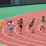 100mオープン 大澤