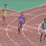 4×400mR準決勝 1走池田