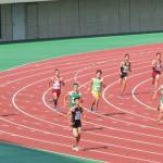400m決勝 神谷(右) 戸澤(右)