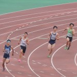 200m予選 谷本