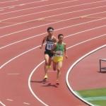 800m予選 久野