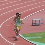 800mオープン 小池(前) 金澤(後)