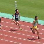 B100m予選 井田