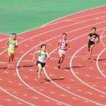 200m決勝 金井(右) 戸澤(左)