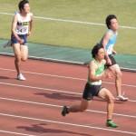100m 谷本