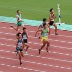 100m予選 井田