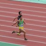100m予選 福富