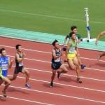 100m準決勝 井田