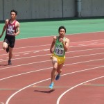 400m予選 高橋
