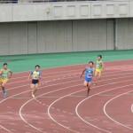 400m決勝 高橋(左) 三上(右)