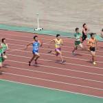 100m準決勝 谷本