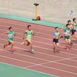 100m準決勝 金子