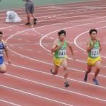 100m 山﨑(左)  大澤(右)