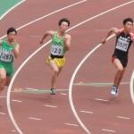 200m準決勝 権田