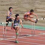 110mH決勝 中野