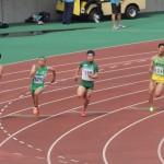 200m決勝 金子