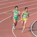 4×400mR決勝 4走髙橋