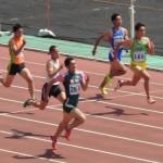 八種競技100m 岸