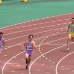 400m予選 髙橋