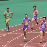 400m準決勝 髙橋