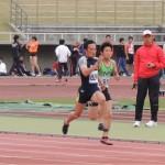 100m 飯田