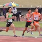100m 舛田