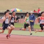 100m 北野